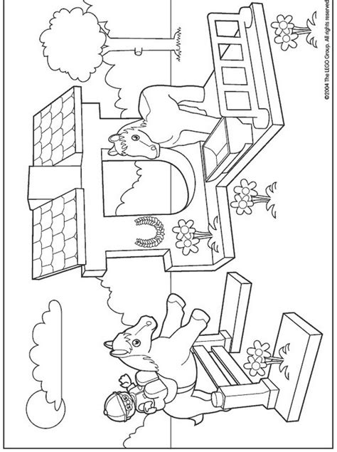 Kids N Fun Com Coloring Page Lego Duplo Lego Duplo Lego Duplo Coloring Pages