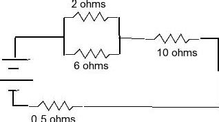 four 20 ohm resistors are connected in parallel what is the total resistance of the circuit two resistors of 2 ohm and 6 ohms are connected in chegg