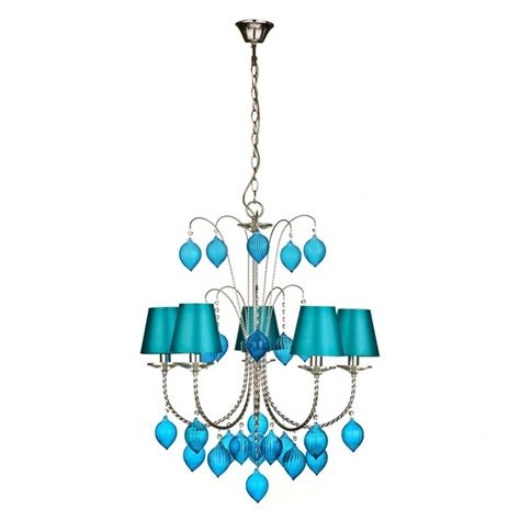 Teal Chandelier 17 Best Images About Teal Chandeliers On Turquoise Fabric Shades And Fulton