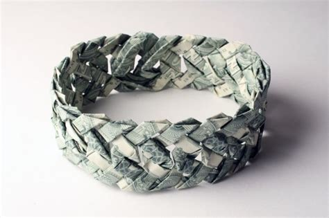 Banknote Origami - banknote jewellery origami curious photos pictures