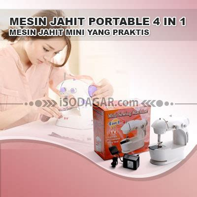 Special Mesin Jahit Mini Portable Sewing Machine mesin jahit portable 4 in 1 isodagar