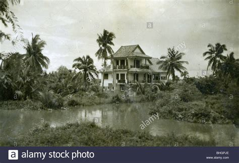 buy a house in vietnam a french colonial villa sits on a plantation in vietnam house home stock photo