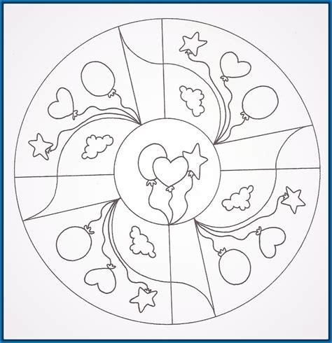 imagenes de mandalas para niños mandalas para colorear para ni 241 os de preescolar archivos
