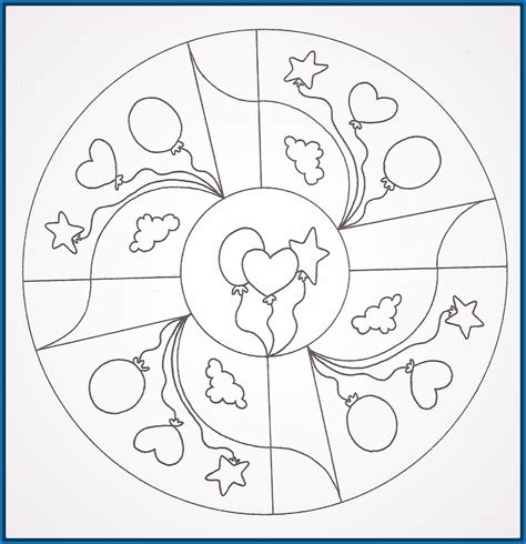 imagenes de mandalas para pintar para ni os mandalas para colorear para ni 241 os de preescolar archivos
