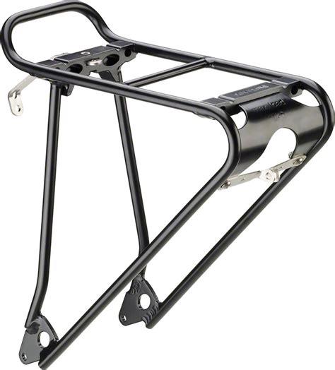 Racktime Front Rack by Racktime Topit Universal Front Mount Rack Black Modern Bike