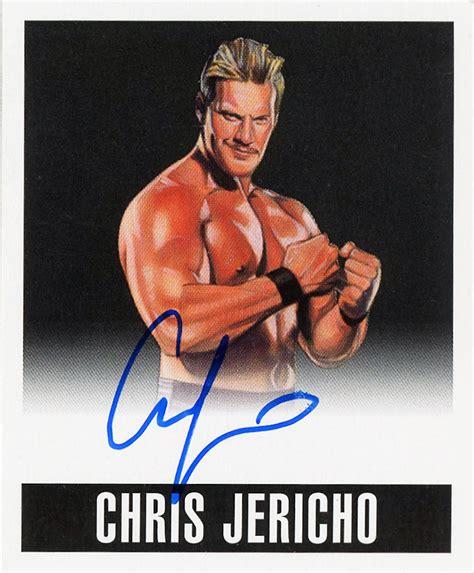 jericho go autographs 2017 leaf originals cards checklist is loaded