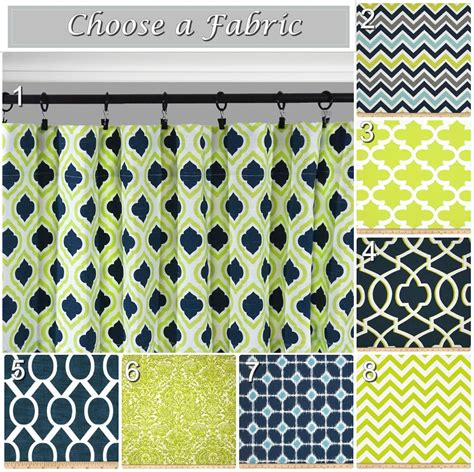 Navy And Green Curtains Designs Navy Window Curtains Lime Green Drapes Blue Grey Curtain