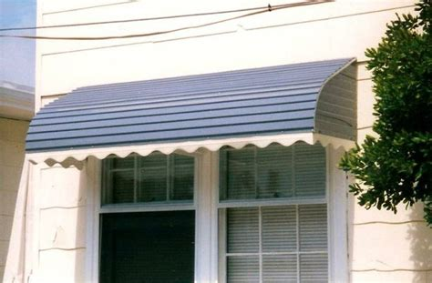 metal awnings shape to your house and save energy