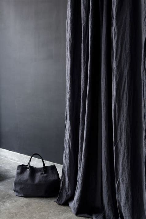 black linen drapes 25 best ideas about black curtains on pinterest black