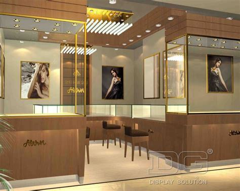 je84 high end fahion jewellery store layout guangzhou