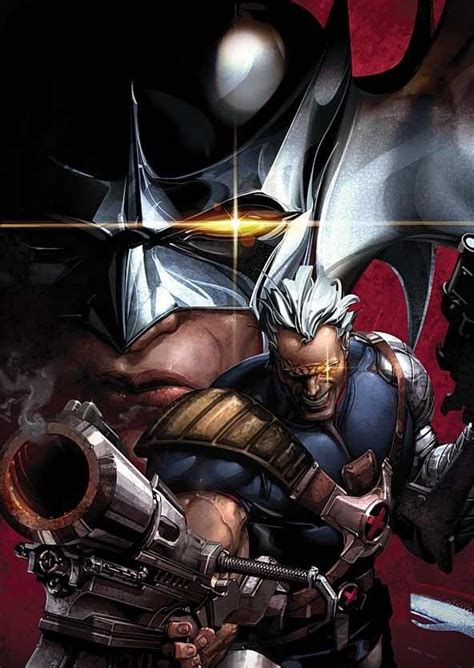 Mashiakh War Of The Messiah cable and stryfe by clayton crain artist clayton crain