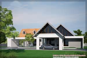 Kerala Single Floor House Plans With Photos by Latest Kerala House Elevation At 2900 Sq Ft