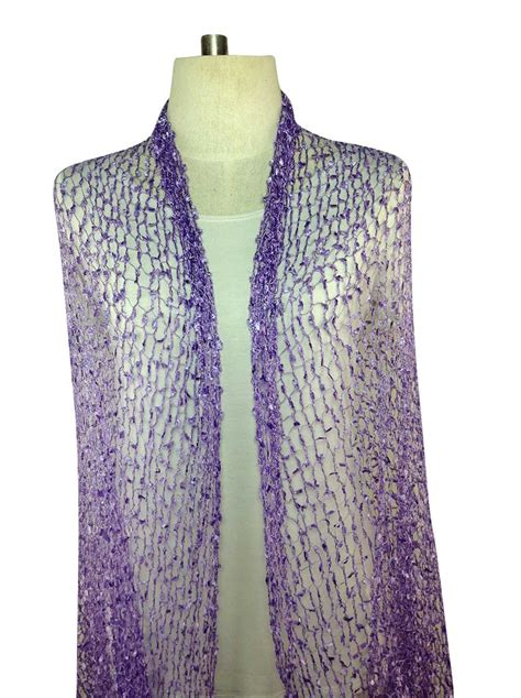 Scarf Purple purple scarves silk special order direct from