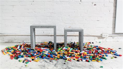 How to Make DIY Concrete Nesting Tables with Legos   YouTube