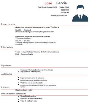 Modelo Curriculum Jefe De Recursos Humanos ejemplo curr 237 culum gerente de ventas curr 237 culums de gesti 243 n