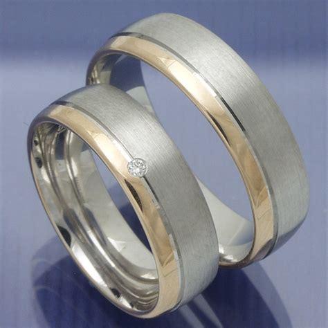 Eheringe Rotgold Silber by Eheringe Shop Trauringe Verlobungsringe Silber Rotgold
