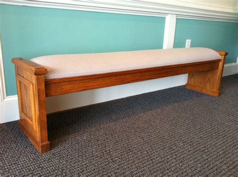 Foyer Bench Church Furnishings Unlimited Inc Benches