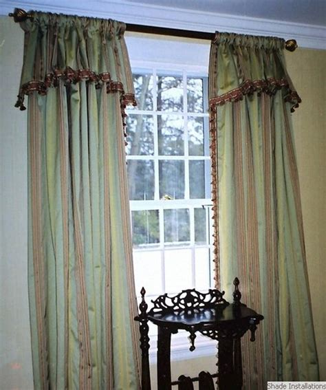 curtains with valances attached curtains with attached valance curtains blinds