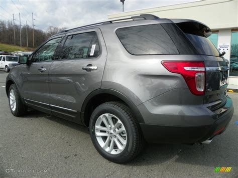 sterling gray metallic 2013 ford explorer xlt 4wd exterior photo 63239207 gtcarlot