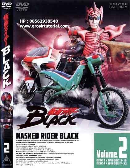 Dvd Kamen Rider Black Satria Baja Hitam 1988 Sub Indo jual kamen rider jual tutorial termurah dan update