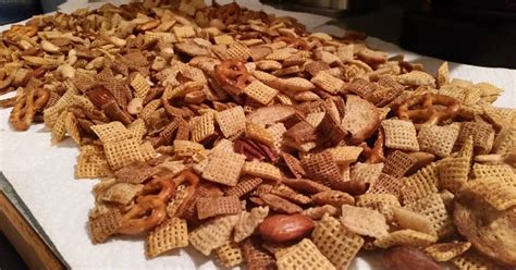 recipe for traditional chex mix chex mix traditional recipe by sandra53 cookpad