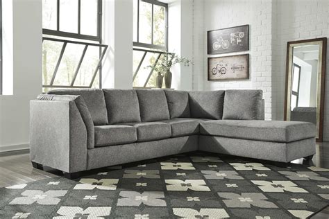ashley furniture belcastel ash raf chaise sectional  classy home