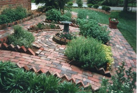 herb garden ideas pinterest williamsburg herb garden lisa earthgirl gardening tips