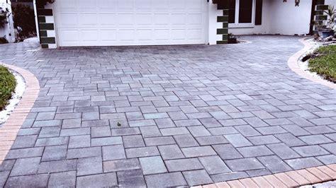 paver driveway installation driveway pavers brick pavers
