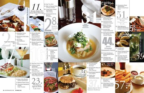 restaurant magazine layout more than just a set of photos food magazine layout