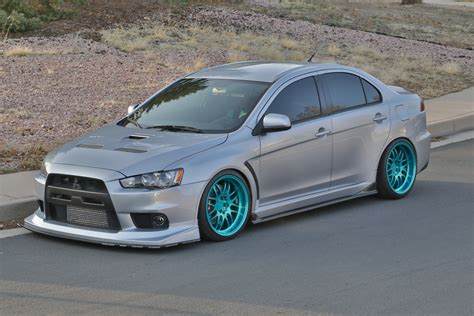 mitsubishi lancer modified jimmye s modified 2008 mitsubishi lancer evolution gsr