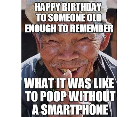 Old Man Birthday Meme - list of synonyms and antonyms of the word happy birthday