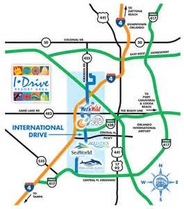 international drive florida map orlando international drive florida
