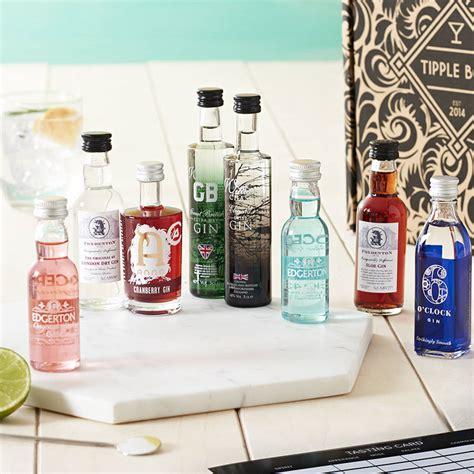 Diy Valentine Gifts great british gin tasting set by tipple box