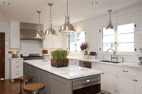 white l shaped kitchen with island grey countertops contemporary kitchen benjamin moore