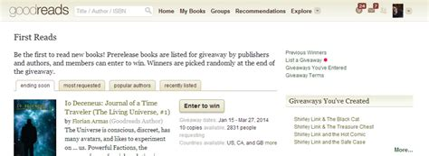 How To Set Up A Giveaway - how to set up goodreads giveaways a step by step how to guide