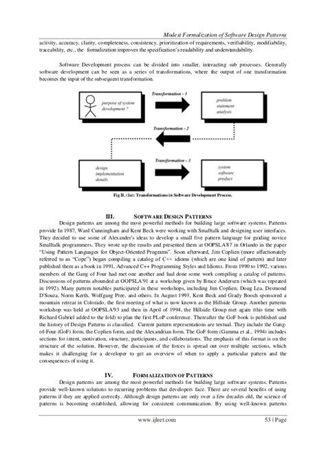 pattern languages of program design 2 modest formalization of software design patterns
