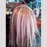 Dark Brown And Blonde Chunky Highlights | 720 x 960 jpeg 157kB