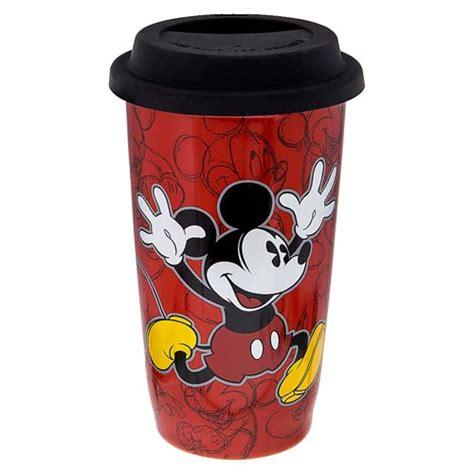Disney Ceramic Mickey Mouse Travel Mug - your wdw store disney ceramic travel mug mickey mouse