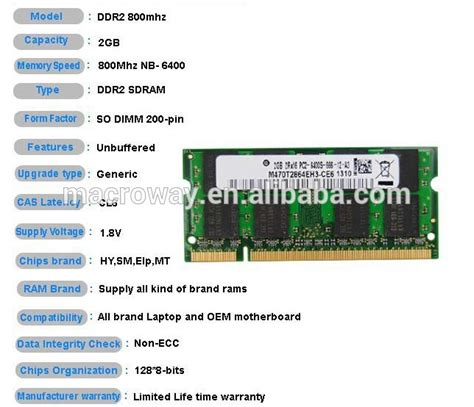 what are the different types of ram different types of ram ddr with low density laptop 2gb ram