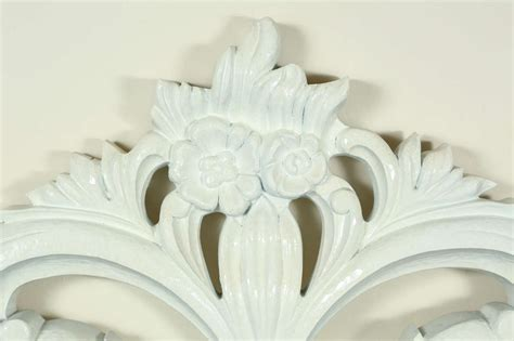wood carved headboards glamorous carved wood baroque headboard at 1stdibs