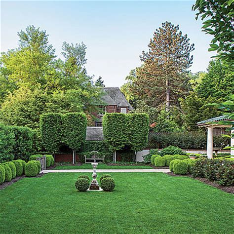 All Green Boxwood Garden Landscaping With Boxwoods All Green Landscaping