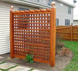 trellis privacy fence ideas backyard privacy trellis patio and yard