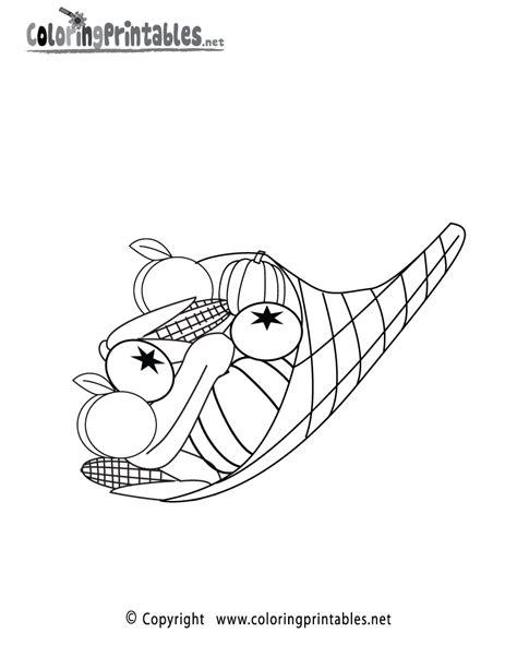 thanksgiving basket coloring page free printable thanksgiving basket coloring page
