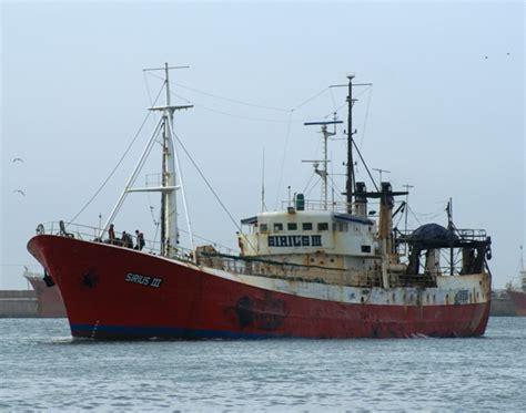 barco de vapor sirius altura