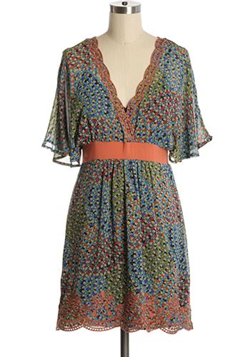 kaleidoscope dress 54 95 s vintage style