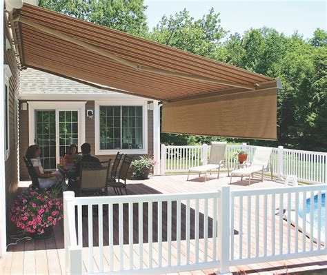 awning backyard backyard awning for pool get shade outdoor living solutions