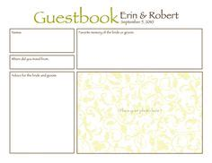 birthday guest book template 1000 images about invitations and ideas on