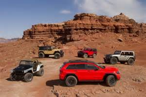 Jeeping In Moab 6 Jeep Concepts Get At The 2013 Moab Jeep Easter
