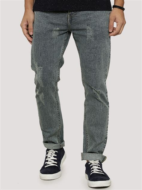 light wash ripped mens buy k denim light wash ripped slim fit for