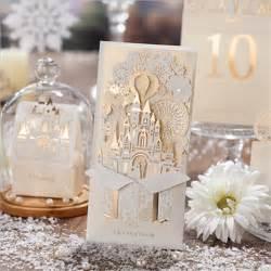 2016 new 1pcs casamento castle laster cut wedding